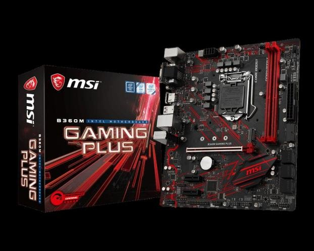 Placa de baza MSI B360M Gaming Plus